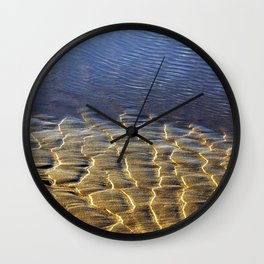 Sun, Sand, & Water Wall Clock