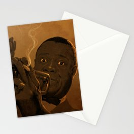 LOUIS ARMSTRONG II Stationery Cards