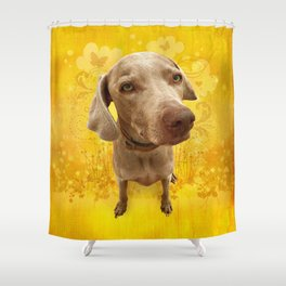 PARKER POSEY (dandilion) puffy cloud series Shower Curtain