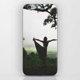 Forest Yoga iPhone Skin