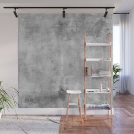 Simply Concrete Gray - Mix and Match with Simplicity of Life Wall Mural