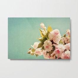 FlowerMent Metal Print