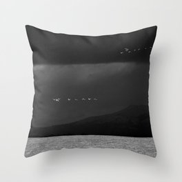 Storm Chasers Throw Pillow