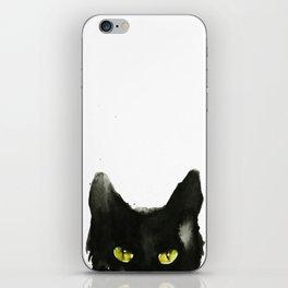 Cat eyes iPhone Skin