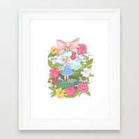 animal crossing Framed Art Prints featuring Animal Crossing by Julia Marshall
