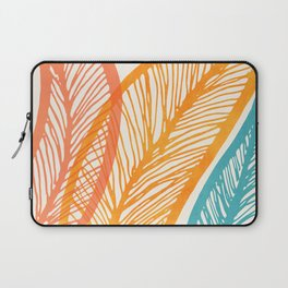 Tropical Flora - Retro Palette Laptop Sleeve