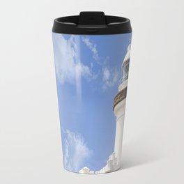 Byron Bay Lighthouse blue Sky Travel Mug