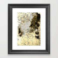 He. Framed Art Print