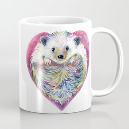 HedgeHog Heart by Michelle Scott of dotsofpaint studios Coffee Mug