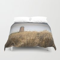 lighthouse Duvet Covers featuring Lighthouse  by Maria Heyens