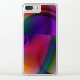 double vortex Clear iPhone Case