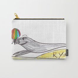 Playful Sea Lion Carry-All Pouch