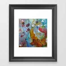 la danse Framed Art Print