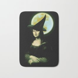 Mona Lisa Witchy Woman Bath Mat