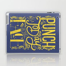 Punch Today in the Face - Original Hand Lettering Laptop & iPad Skin