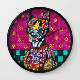 Vinnie Van Dogh Wall Clock