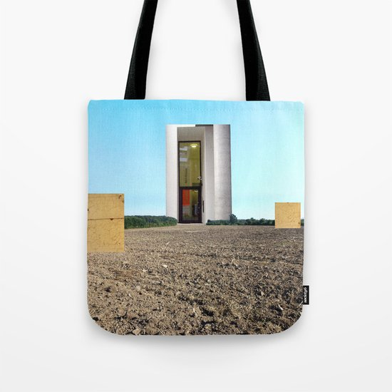 Surreal CityLand Collage 5 Tote Bag