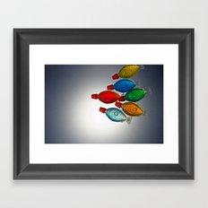 School of Soy Framed Art Print