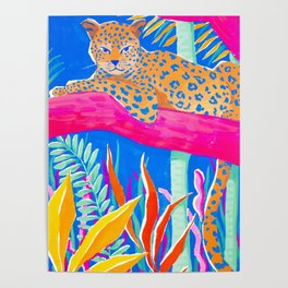 Exotic Jungle Poster
