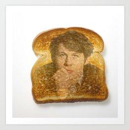 Miracle on Toast Art Print