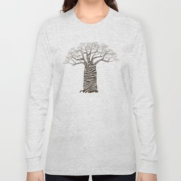 Zebra Tree Long Sleeve T-shirt