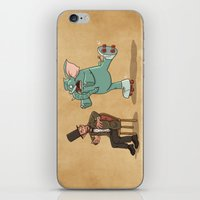 lincoln iPhone & iPod Skins featuring Lincoln by The Drawbridge