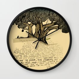 The Fig Tree Wall Clock