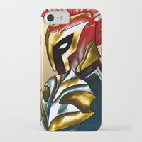 soldier iPhone & iPod Cases featuring Soldier by Hawthornearts