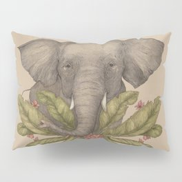 Borneo Pygmy Elephant Pillow Sham