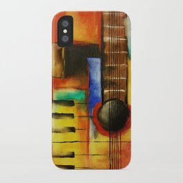 Strings and Keys iPhone Case