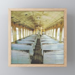 Train Wagon Framed Mini Art Print