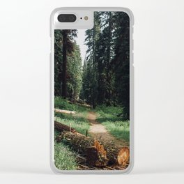 the tree the tempest Clear iPhone Case