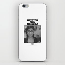 Have you seen this Mia? iPhone Skin