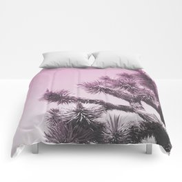 Joshua Tree - Ultraviolet Comforters