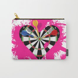Dartboard Romance Carry-All Pouch