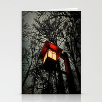 lantern Stationery Cards featuring Lantern by A Dostert