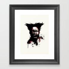 Weapon X Framed Art Print