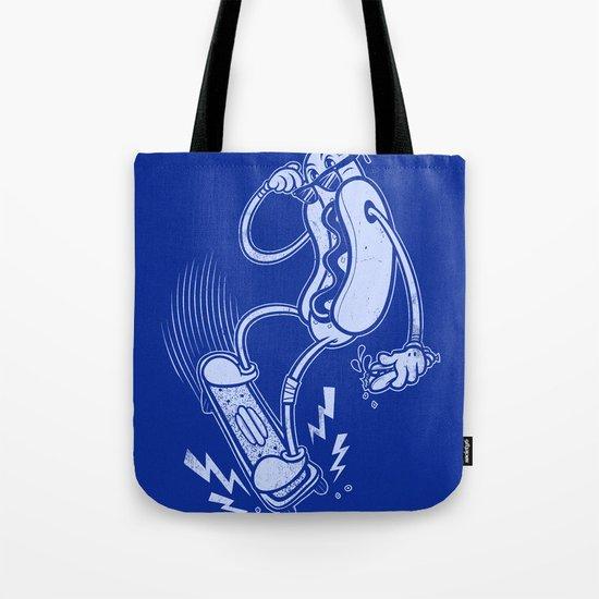 Skate or Dog Tote Bag