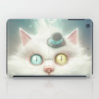 lady iPad Cases featuring Release the Odd Kitty!!! by Dr. Lukas Brezak