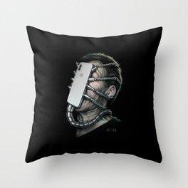 Xenomorphone Throw Pillow