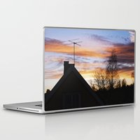 swedish Laptop & iPad Skins featuring Swedish Sunset by Matthew Phillips