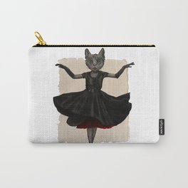 Twirling, Twirling, Couture Kitty Carry-All Pouch