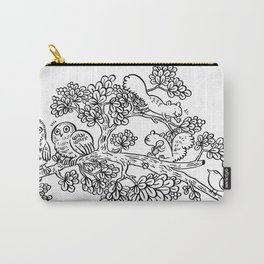 Forest Friends in Foliage Carry-All Pouch