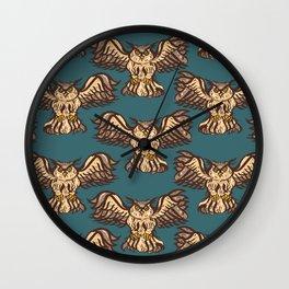 Bubo bubo Wall Clock