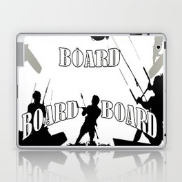 Board Board Board Kitesurfer Laptop & iPad Skin