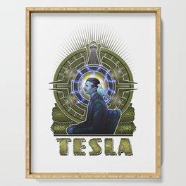 Nikola Tesla Serving Tray