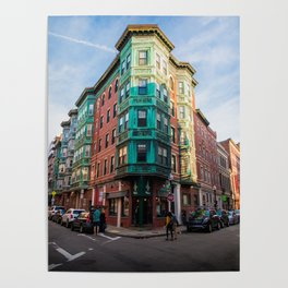 The Old Style - North End Boston Massachusetts Poster