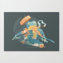Blue Ronin Canvas Print