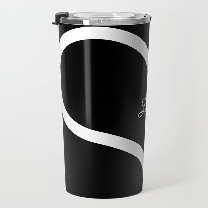 Love. (Black)  Travel Mug