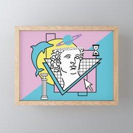 Apollo - Vaporwave - 80s Framed Mini Art Print